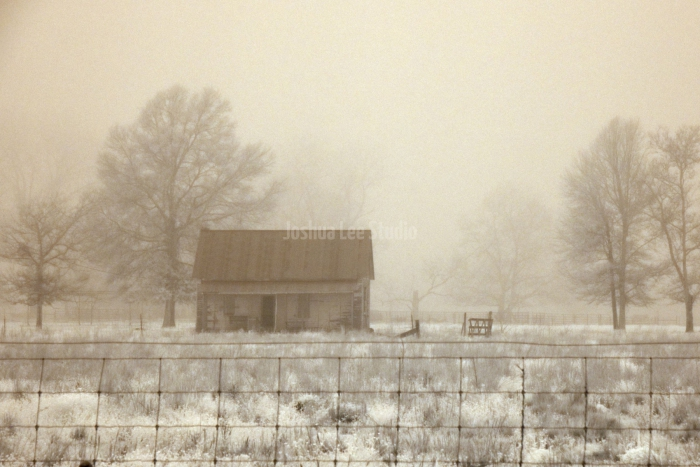 Foggy-Farmhouse
